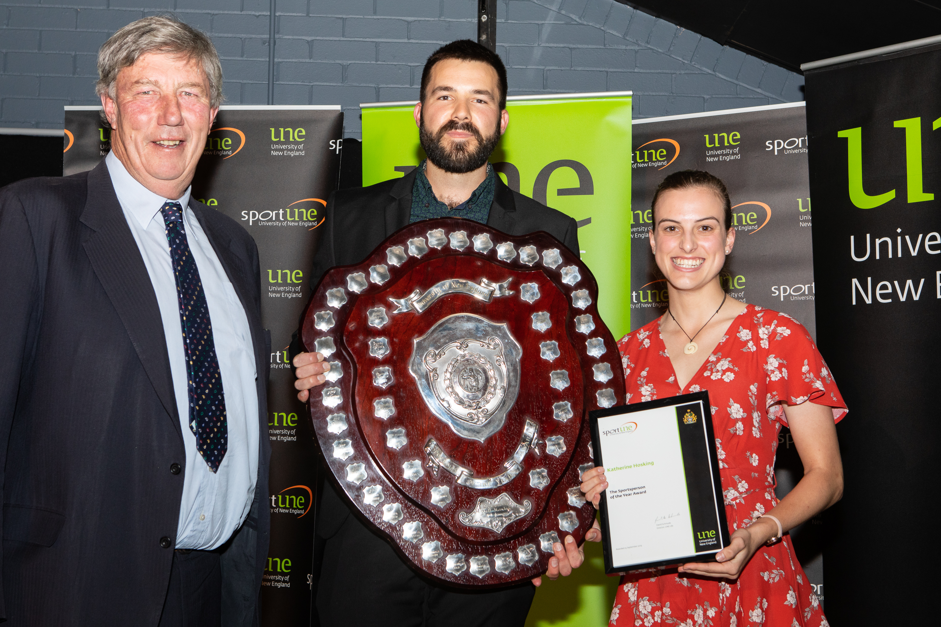 UNE Sport Awards 2019 Katherine Hosking Sports Person of the Year