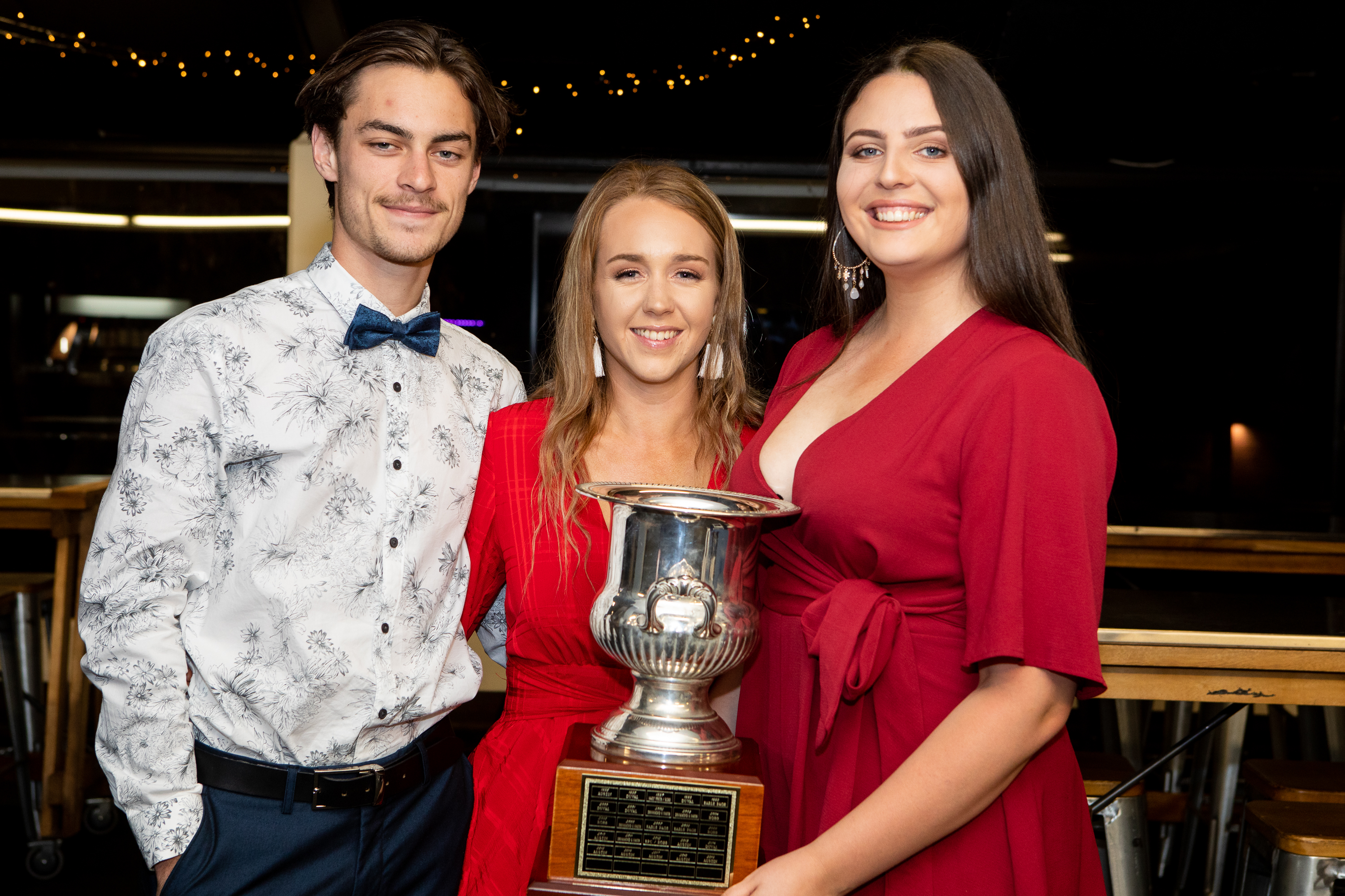 UNE Sport Awards 2019 award winners