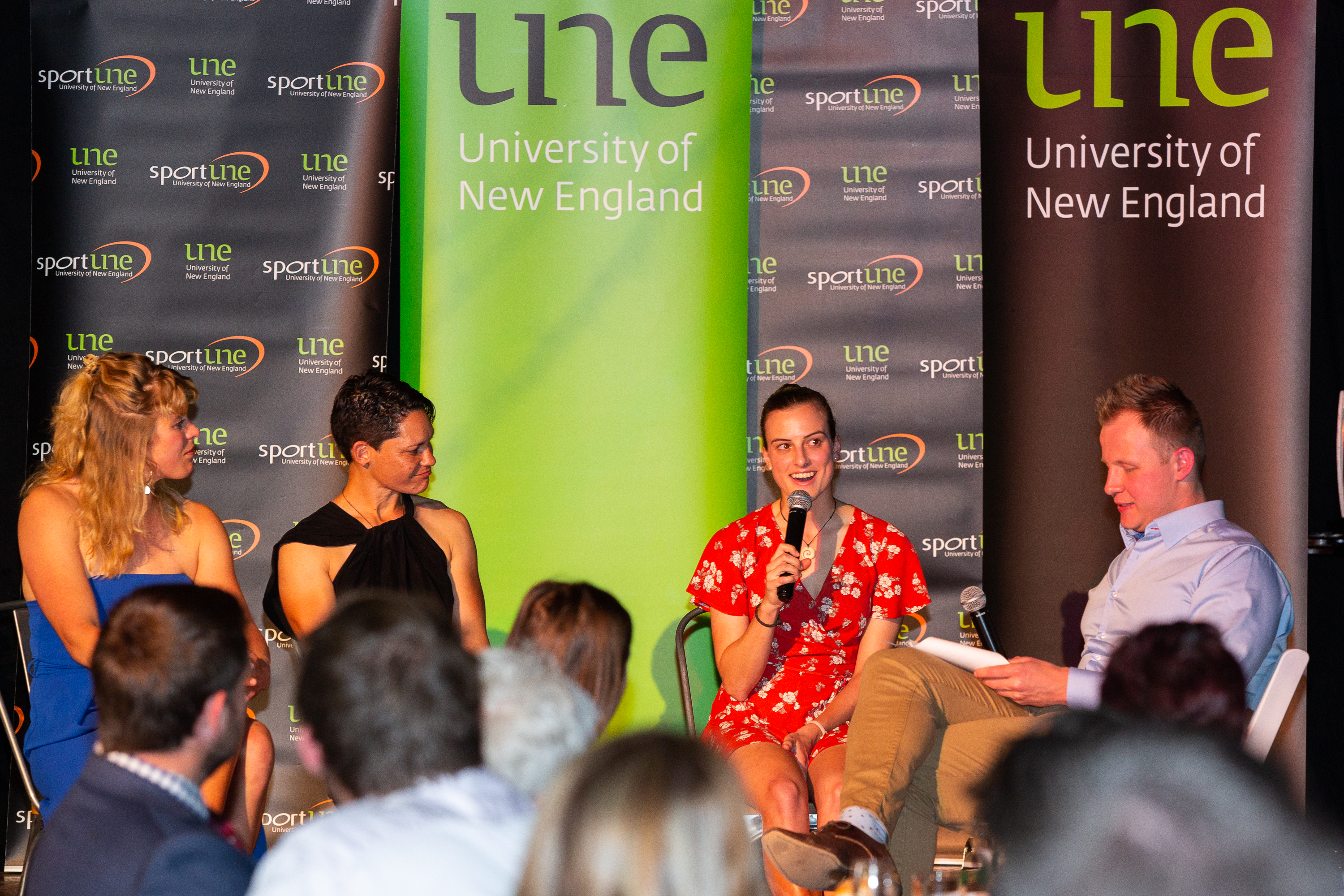 UNE Sport Awards 2019 Panel discussion