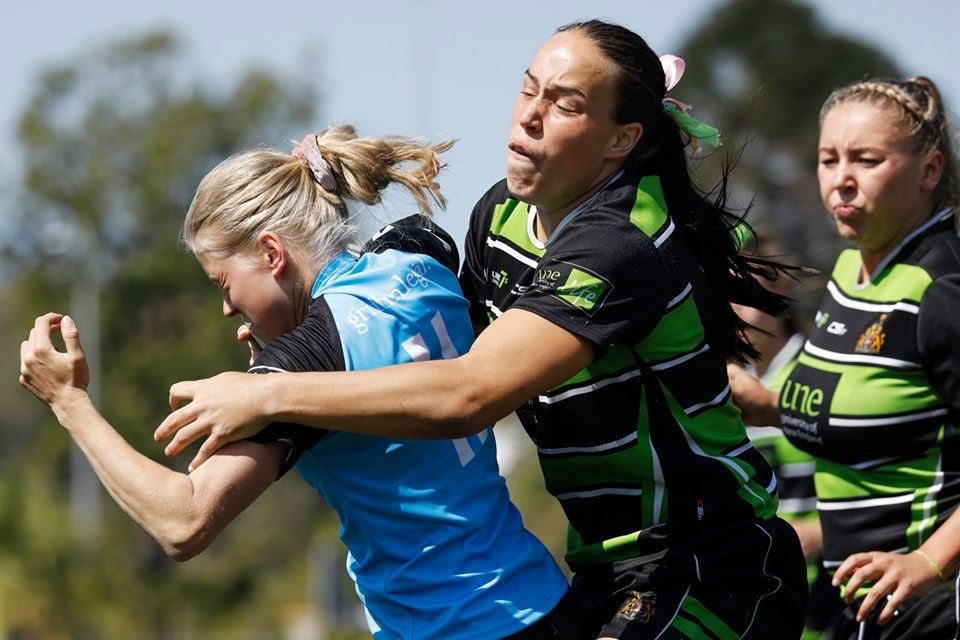 Rhiannon Byers UNE AON 7s photo by CraigDick