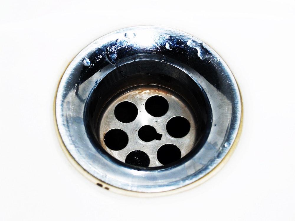 sink water drain