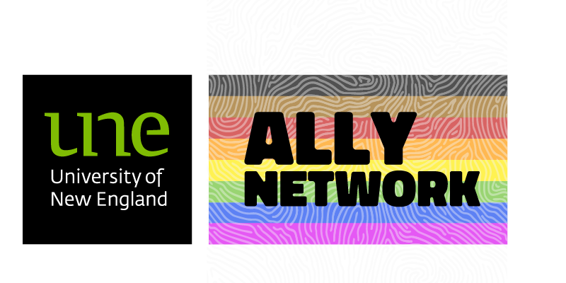 UNE Ally Network Logo