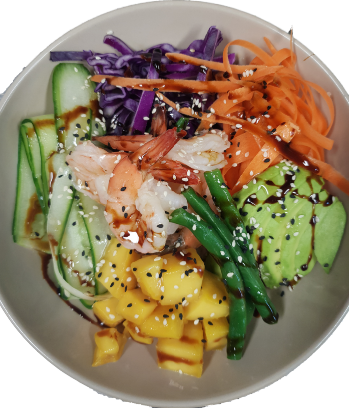poke bowl, UNE Life, Functions & Catering