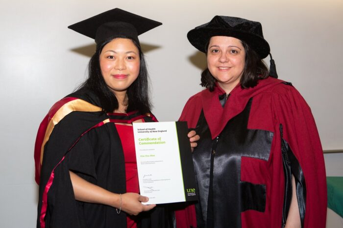 Hsu Hsu Mon Master of Nursing Practice, 2019, UNE