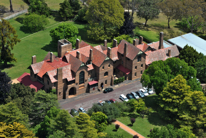 Booloominbah Historic House Aerial View, UNE