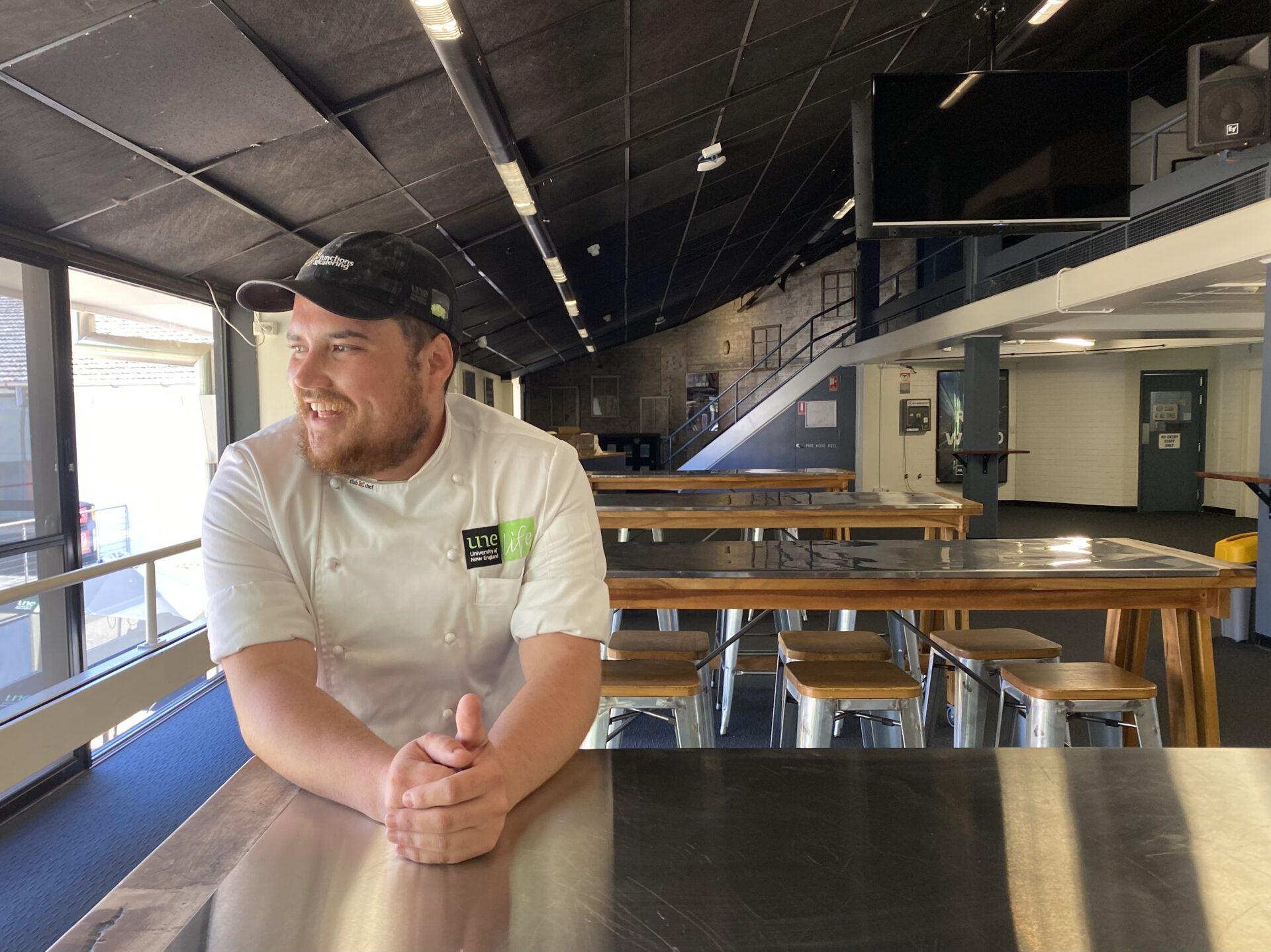 Aaron de Souza, UNE Life, Functions and Catering Apprentice Chef