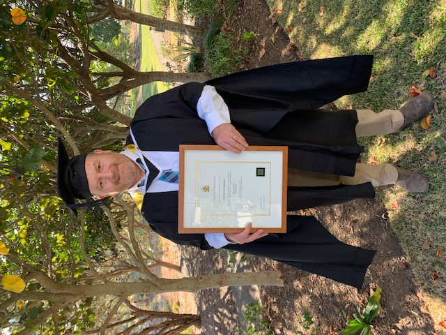 Patrick Whymark Bachelor of Arts / Teaching 2012 Master of Arts Geography 2020