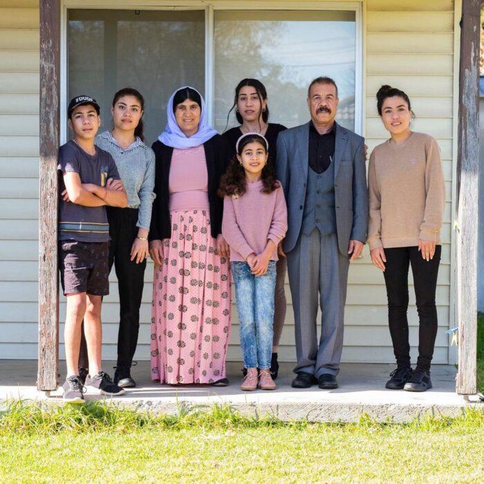 Ezidi Family, Simon Scott Photo, year-of-welcome-refugee-week-2020