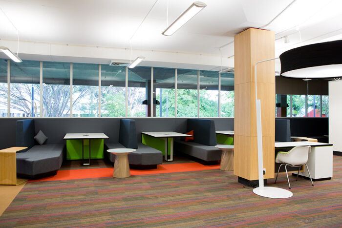 UNE Dixon Library study space