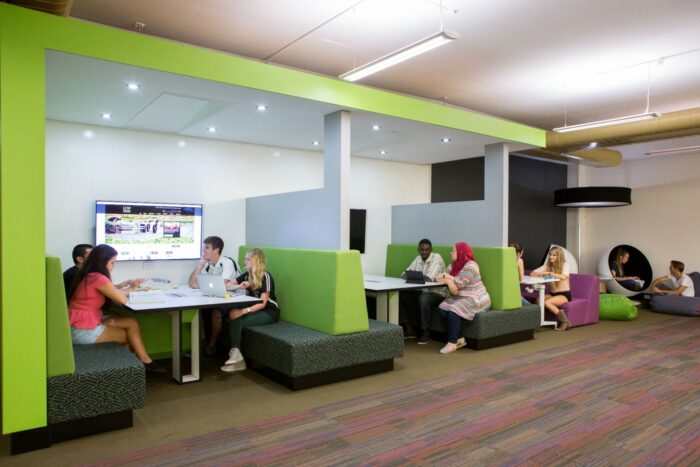 UNE Library study space