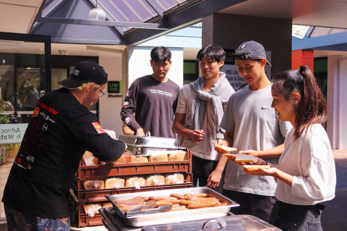 Student BBQ hosted by UNE Life's Advocacy & Welfare team