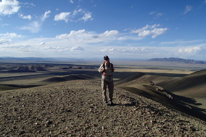 Marissa Betts, UNE, Gobi Altai area in Mongolia