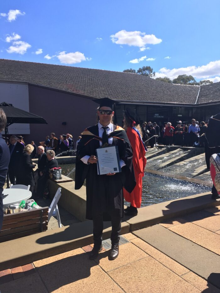 Phillip Rose Bachelor of Urban and Regional Planning, 2019