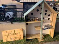 Lockdown library in parramatta
