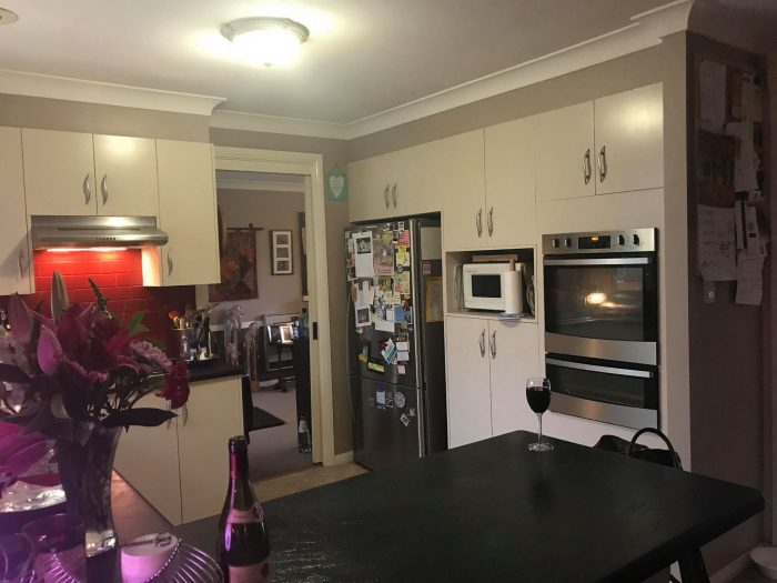 Kitchen in share house popular with students