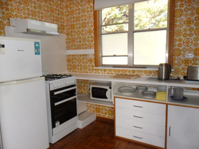 Golden Elm Flat kitchen
