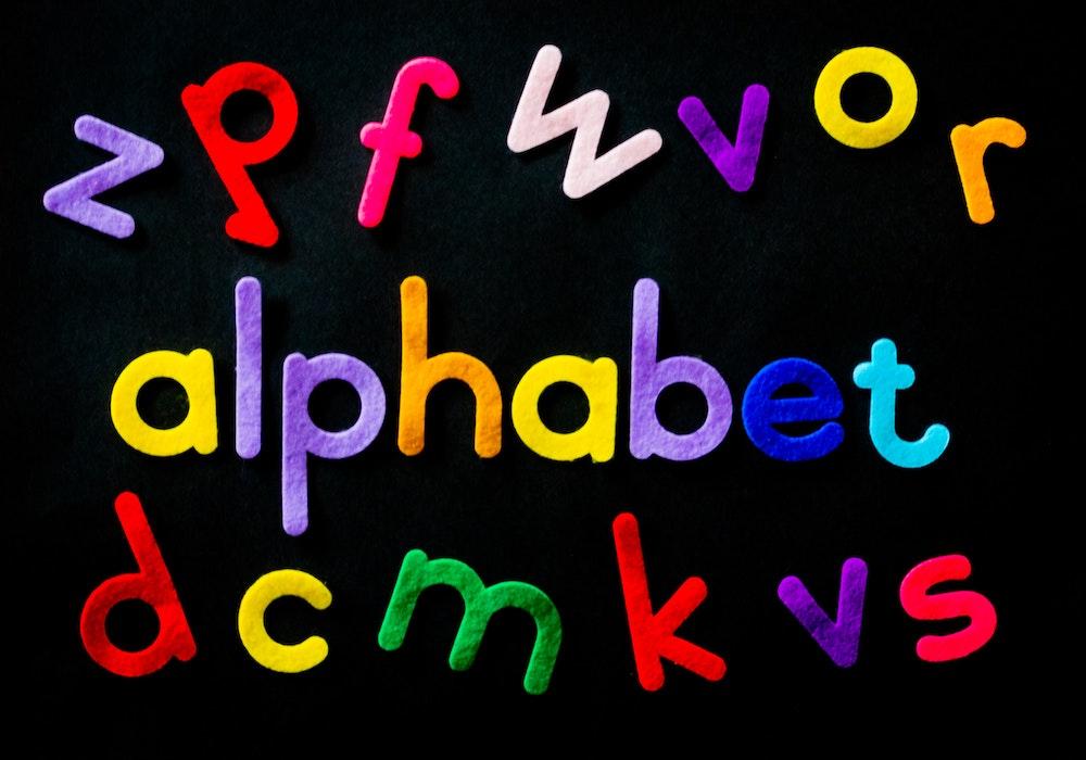 Abc Alphabet Art
