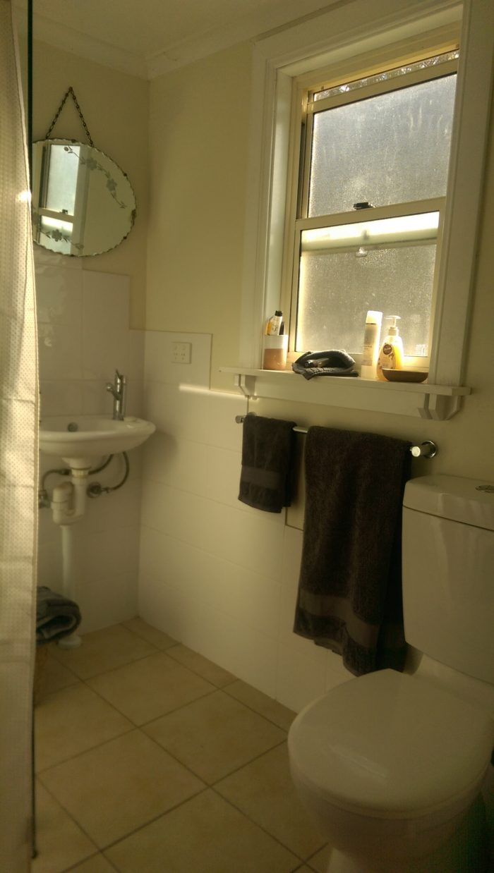 Bathroom of garden guest room