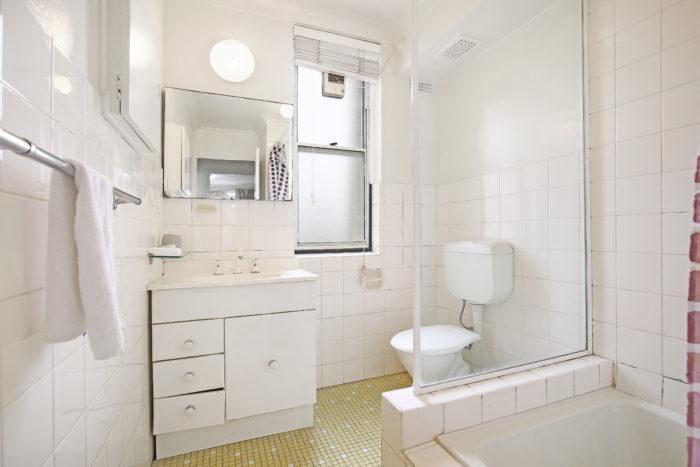 Bathroom at TC Gardens